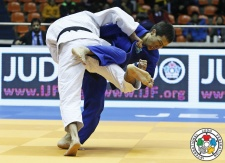 Azamat Mukanov (KAZ) - Grand Prix Jeju (2015, KOR) - © IJF Media Team, International Judo Federation